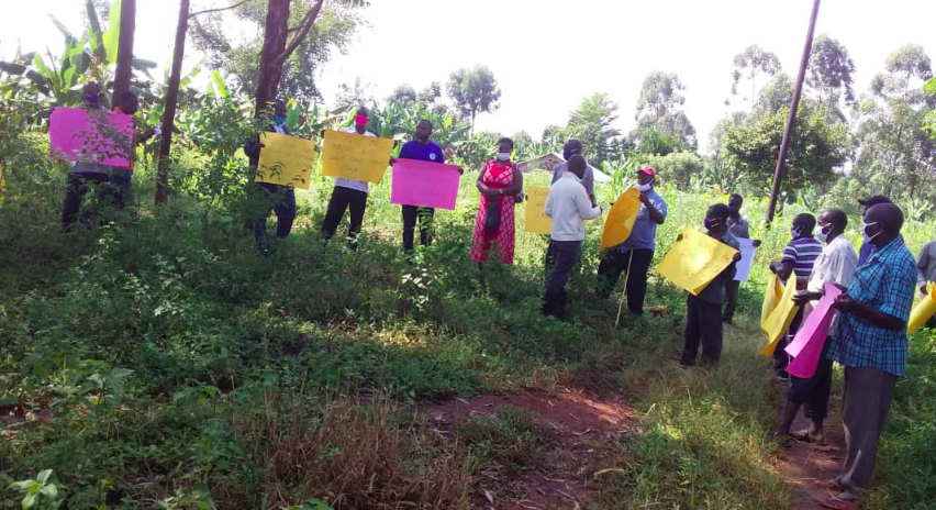 Solidarity Uganda blends elements of horizontalism and traditional civil society organizational structure to support its member-based resistance network.